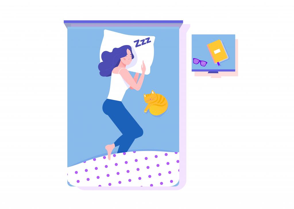 siga algumas dics para dormir bem e veja o rendimento do seu estudo!