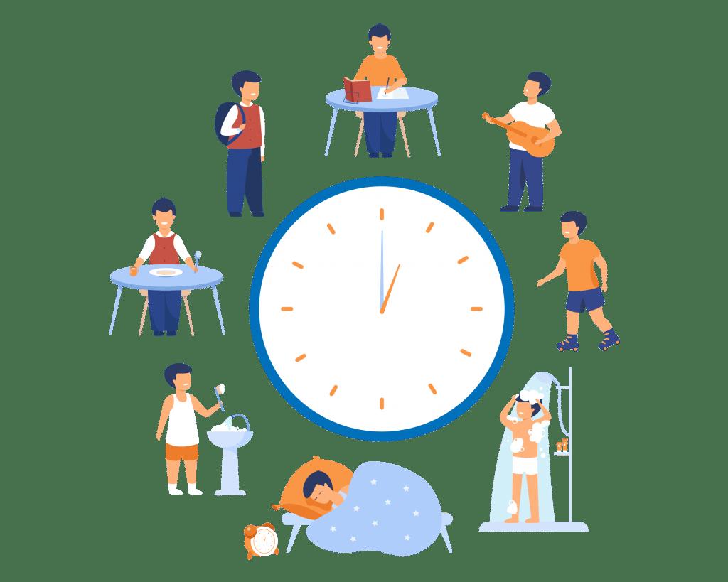 Faça a análise da sua rotina para montar seu cronograma de estudos