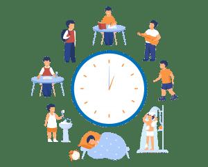 Faça a análise da sua rotina em uma planilha para montar seu cronograma de estudos